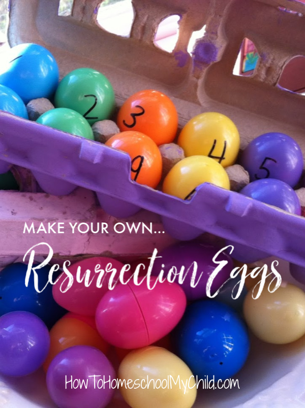 Make your own Resurrection eggs for Easter celebration