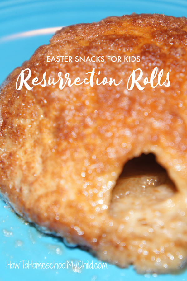 Resurrection Rolls for your Easter snacks & Easter celebration with kids