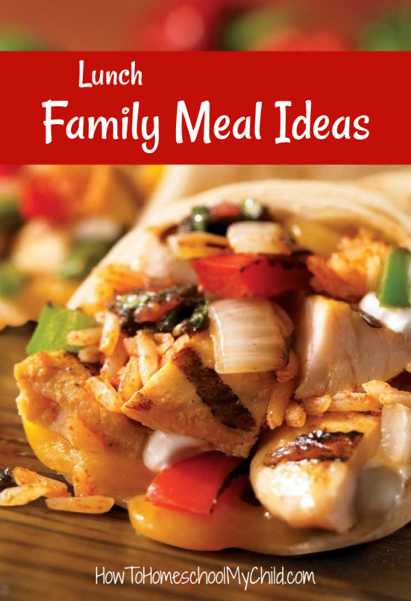 Lunch Family Meal Ideas from Easy Family Meal Ideas Recipe Book