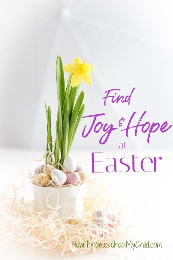 Joy & Hope at Easter