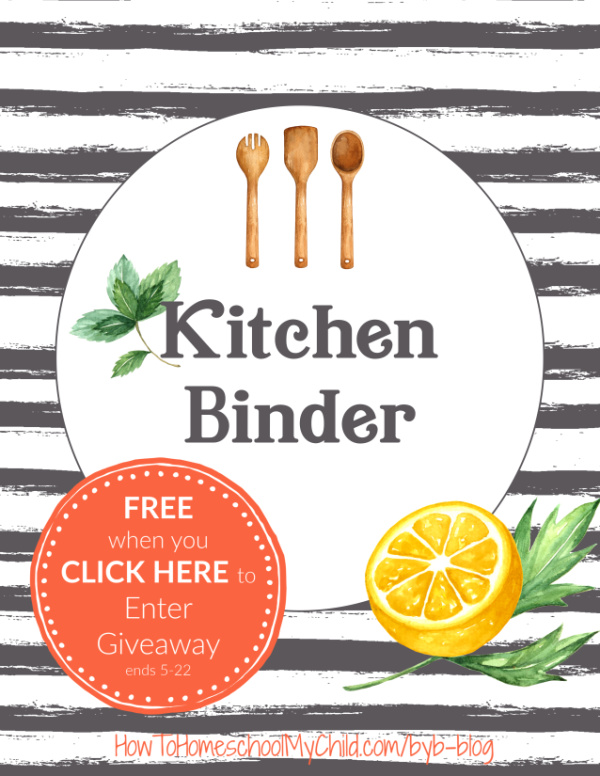 How to organize recipes with a kitchen binder