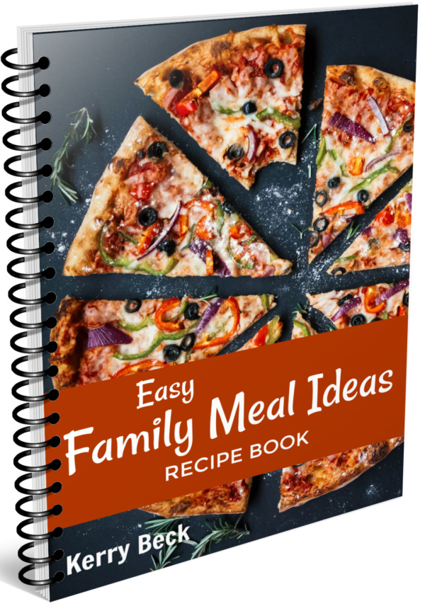 Easy Family Meal Ideas Recipe Book for Homeschool Moms