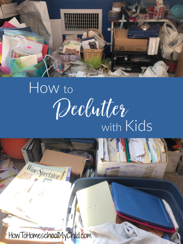 How to declutter with kids video