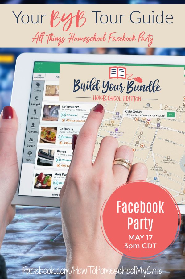 All Things Homeschool Facebook Party