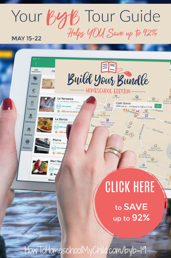 Build Your Bundle Tour Guide - Save up to 92% on Homeschool Resources