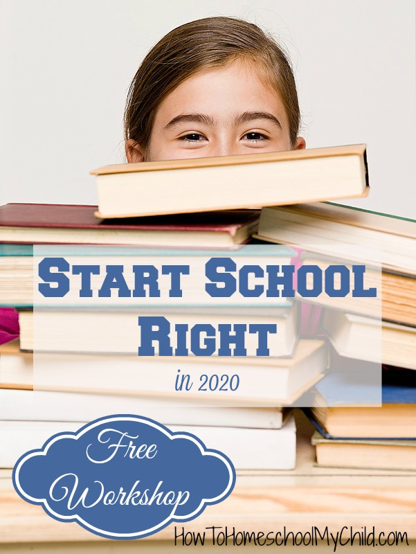 free workshop to start school right
