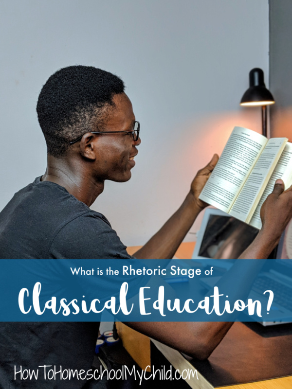 Classical Education - Rhetoric Stage