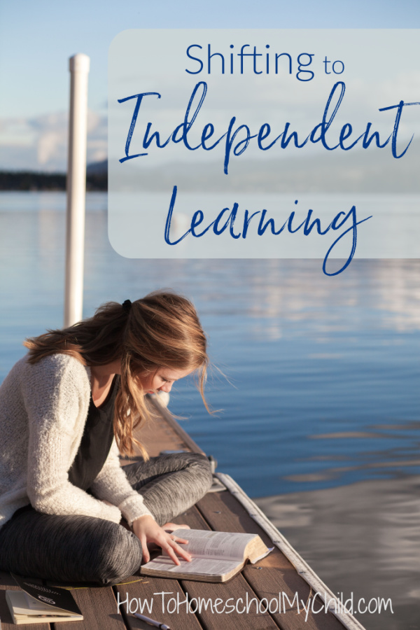 Shifting to Independent Learning in homeschooling