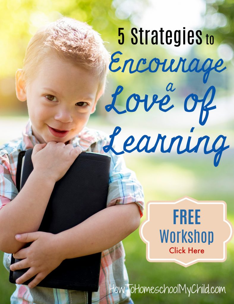 5 strategies to encourage a love of learning