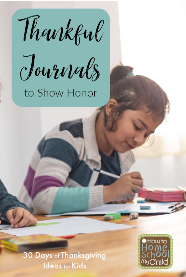 Thankful Journals to show honor
