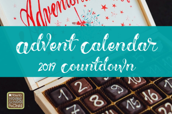 advent calendar 2019 countdown