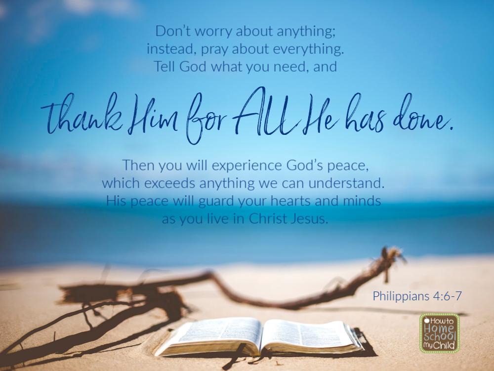 Hope in Jesus - Philippians 4:6-7