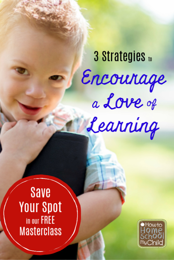 encourage a love of learning