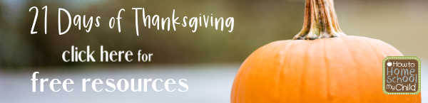 21 Days of Thanksgiving Freebies