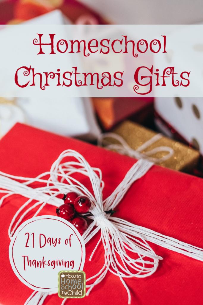 homeschool Christmas gifts