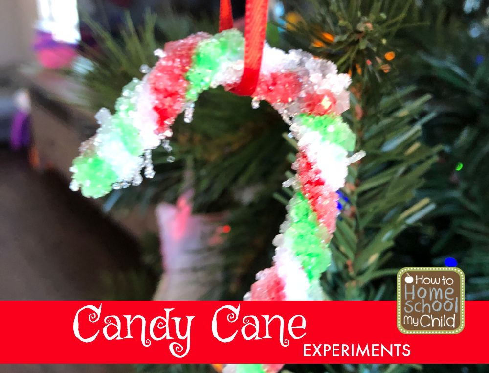 candy cane experiments
