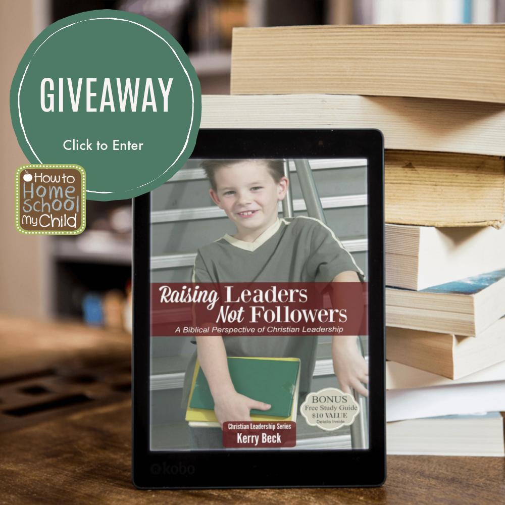 Raising Leaders ebook giveaway
