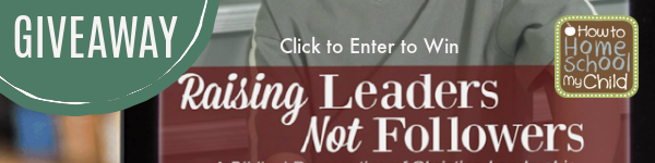 Raising Leaders Giveaway